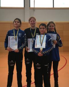 Bild von RCG-Sportlerinnen beim Ladys Cup Chemnitz